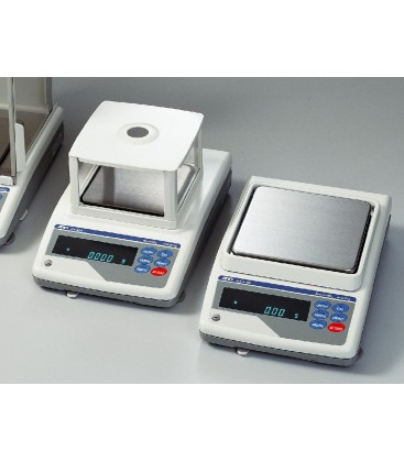 A&D GF & GX Series Industrial Precision Balances (1mg models with Breezebreak) - Left View