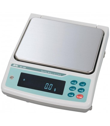 A&D GF-K Series High Capacity Precision Balances - Left View