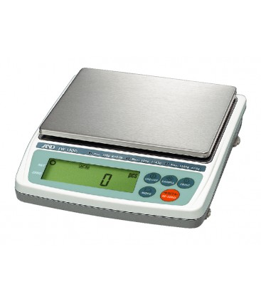 A&D EW-i Series Triple Range Value Compact Balances - Left View