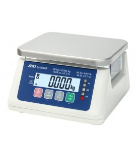 A&D SJ-WP Waterproof Bench Scales - Left View