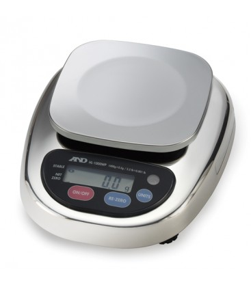 A&D HL-WP Series Compact Scales - Left View