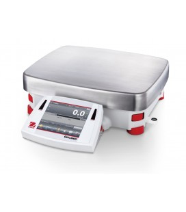 Ohaus Explorer High Capacity Precision Balances Left View