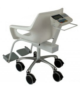 A&D HVL-CS Digital Chair Scales Left View