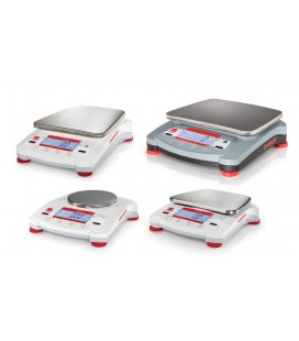 Ohaus Navigator Portable Balances - Left View