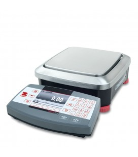 Ohaus Ranger 7000 MHD3, MHD6  Compact Bench Scales - Left View