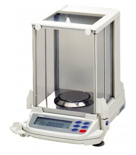 A&D GR Series Semi Micro Analytical Balances - Left View